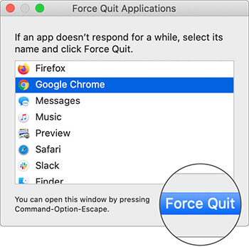 Force Quite Chrome on Mac