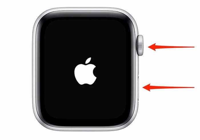 Neustart der Apple Watch erzwingen