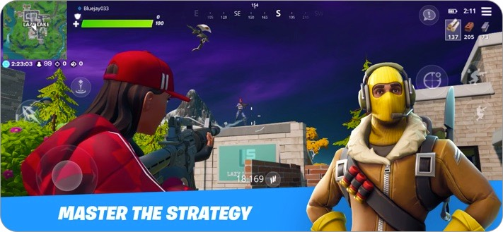Fortnite iPhone Game to Play with Friends