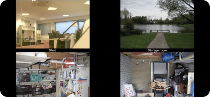 Foscam Surveillance Pro Security iPhone and iPad App Screenshot