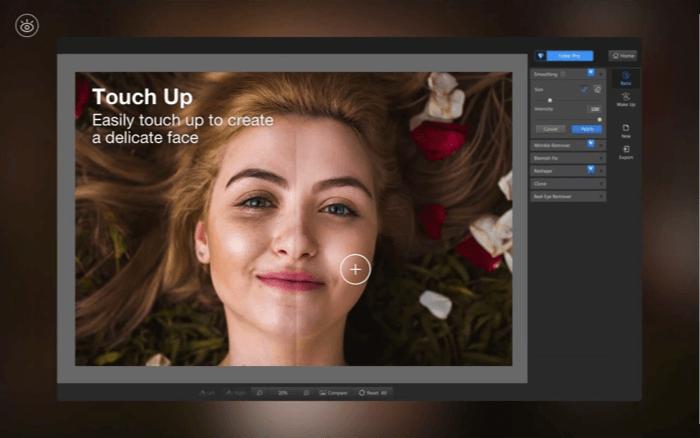 Fotor Photo Editor App for Mac Screenshot