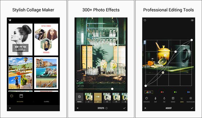 Fotor Photo Editor iPhone и скриншот приложения