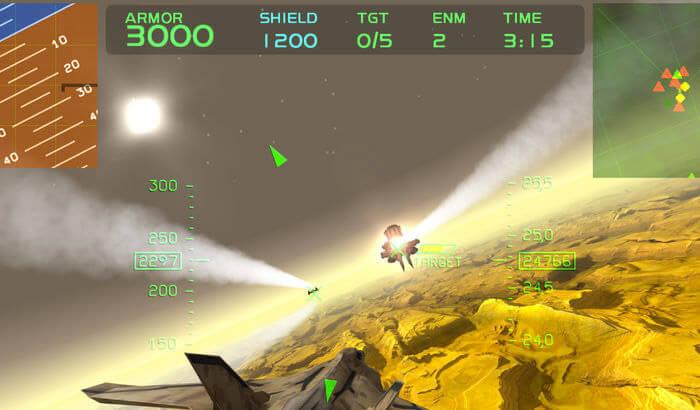 Fractal Combat X (FCX)Game Screenshot
