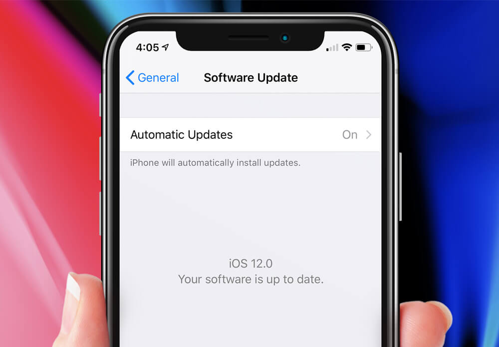 Frequent OS Updates on iPhone