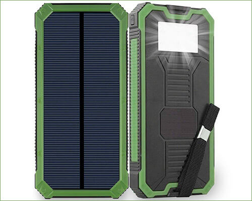 Friengood Solar Power Bank for iPhone