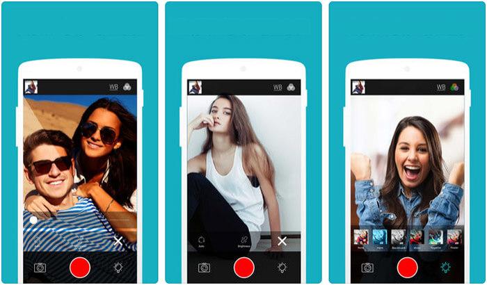 Front Flash Camera HD iPhone and iPad App Screenshot