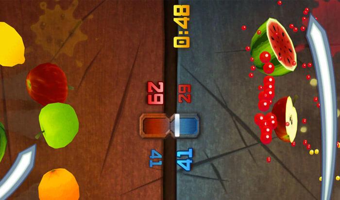 Fruit Ninja Classic iPhone and iPad Game Screenshot