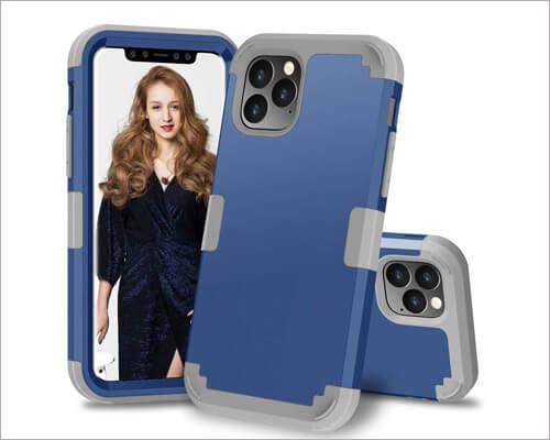 Futanwei iPhone 11 Pro Max Hybrid Heavy Duty Case
