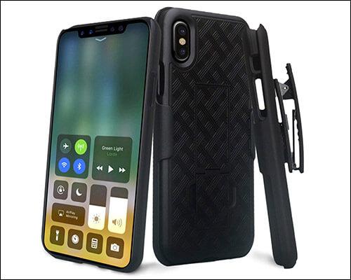 GALAXY WIRELESS iPhone Xs Belt Clip Holster Phone Case
