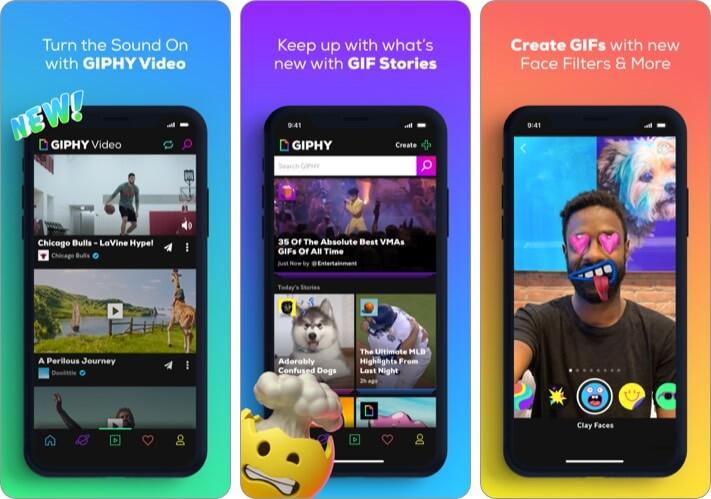 GIPHY iPhone and iPad App Screenshot