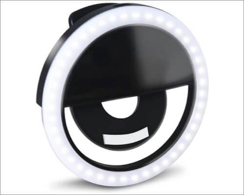 GLOUE iPhone Selfie Ring Light