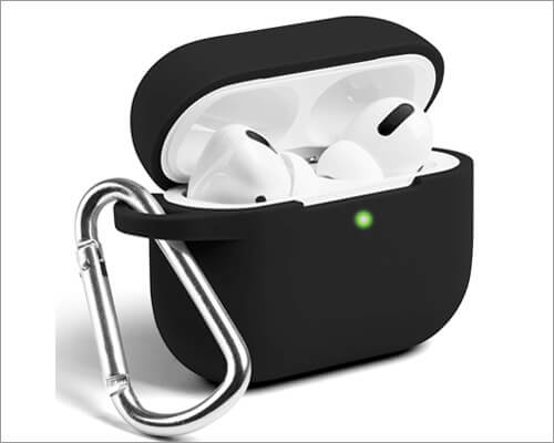 GMYLE Protective Case with Keychain Kit for AirPods Pro