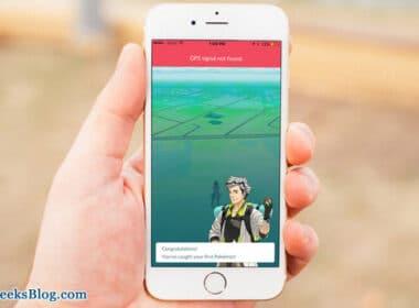 GPS Signal Not Found in Pokemon Go