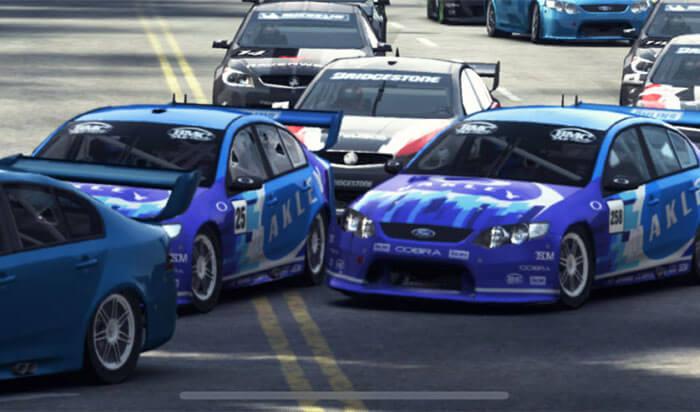 GRID Autosport iPad Car Racing Game Screenshot