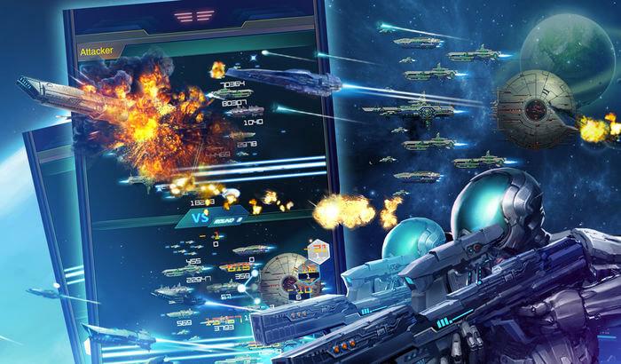 Galaxy At War Strategy iPhone and iPad Game Screenshot