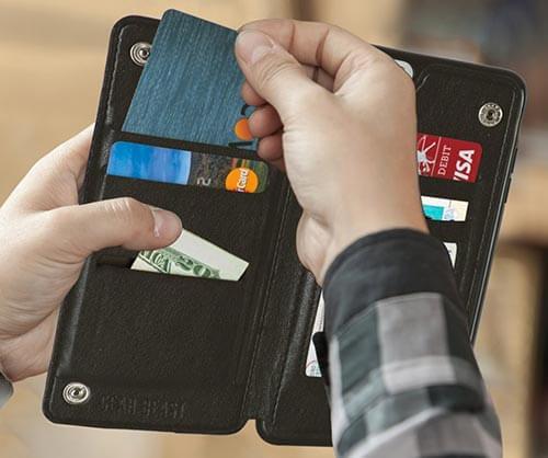 Gear Beast iPhone 7 Wallet Case