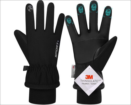 Genic touchscreen gloves for iPhone and iPad