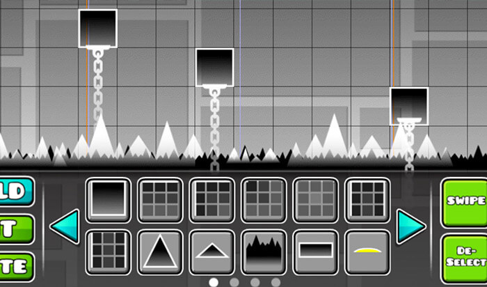 Geometry Dash Paid iPhone Game Screenshot