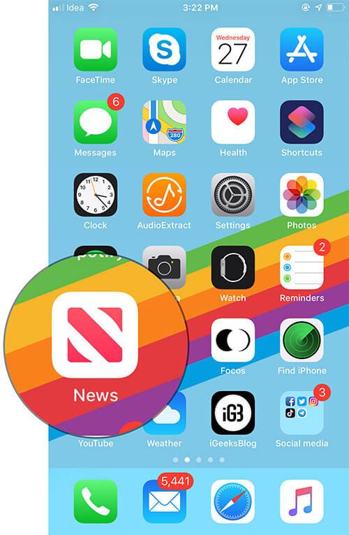 Get Apple News App Outside US on iPhone or iPad