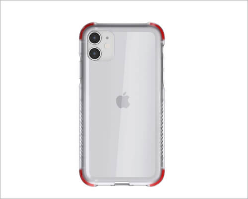 Ghostek Clear Silicone Silicone Case for iPhone 11