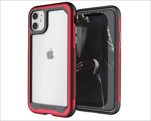 Ghostek iPhone 11 Wireless Charging Metal Bumper Case
