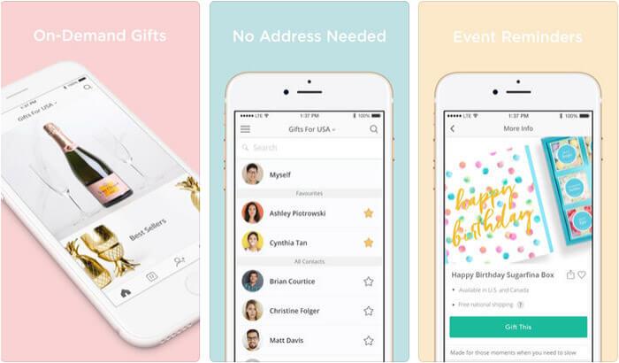 Giftagram iPhone App Screenshot