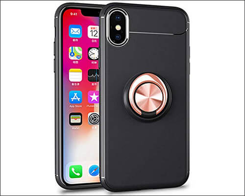 Giyer iPhone XR Ring Holder Case