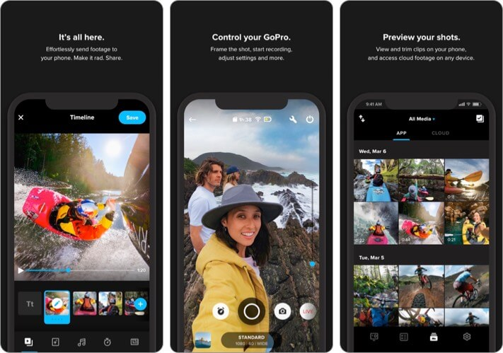 GoPro iPhone App to Add Music to Video