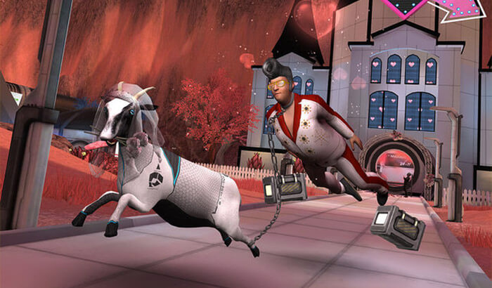 Goat Simulator Waste of Space Weird iPhone Game Screenshot