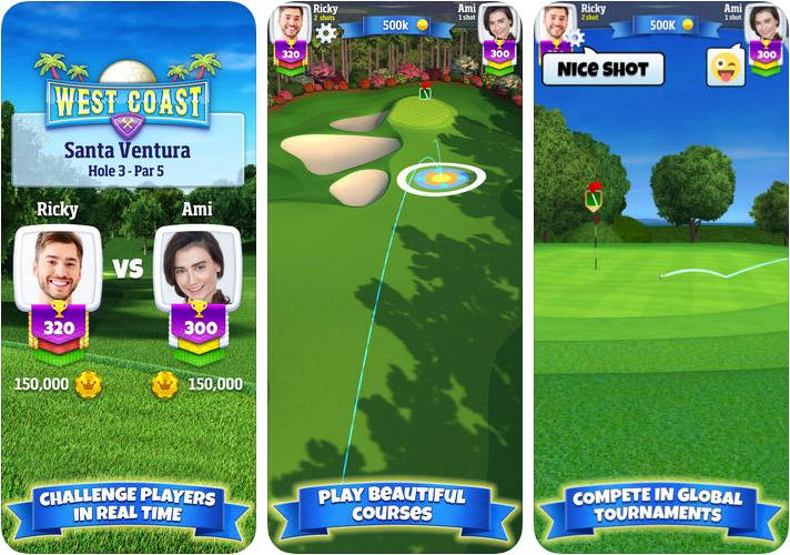 Golf Clash iPhone and iPad Game Screenshot