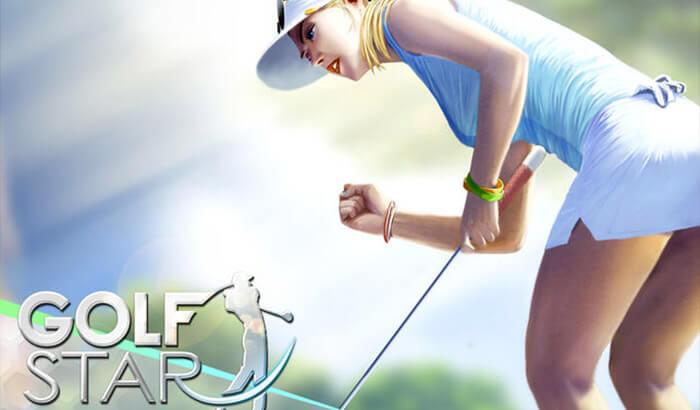 Golf Star™ Sports iPhone and iPad Game Screenshot