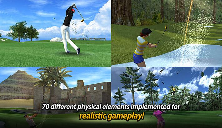 Golf Star iPhone and iPad Game Screenshot