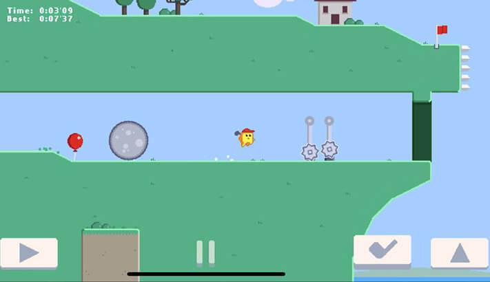 Golf Zero iPhone and iPad Game Screenshot