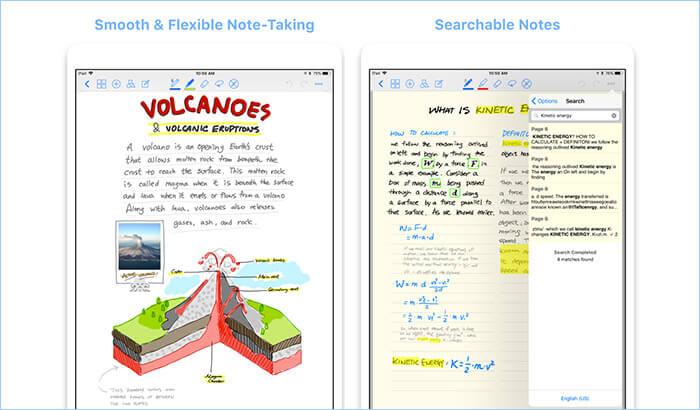 GoodNotes 4 iPad Note Taking App Screenshot