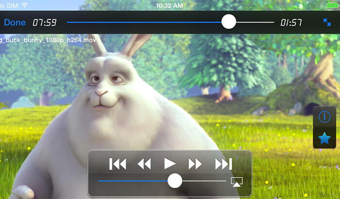 GoodPlayer iPad App Screenshot