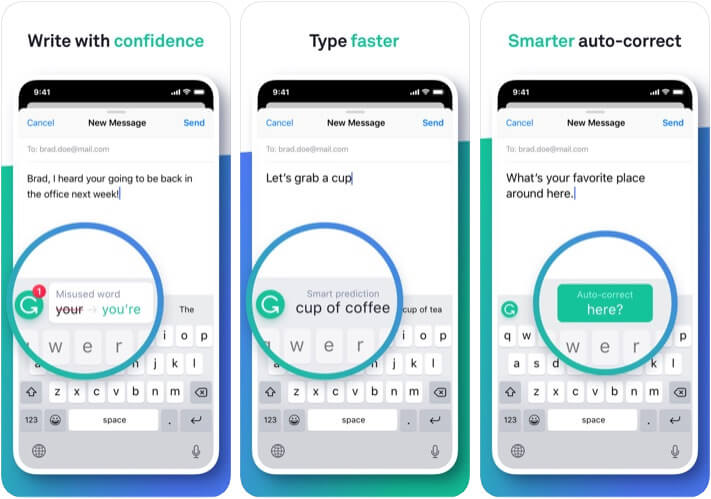 Grammarly Marketer App for iPhone and iPad