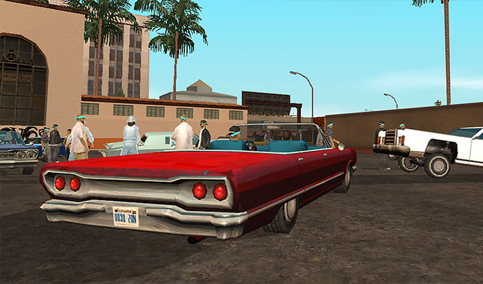 Grand Theft Auto Paid iPhone Game Screenshot
