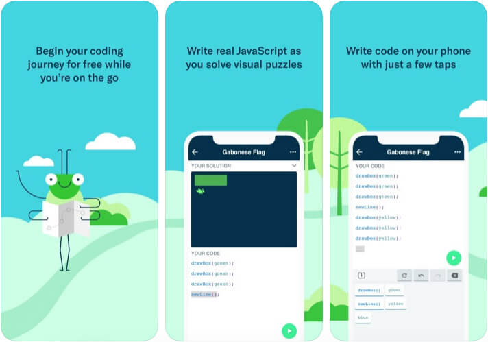 Grasshopper iOS Programming App Screenshot