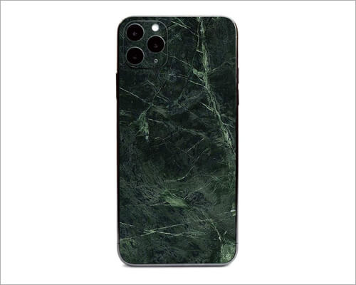 Green Marble iPhone 11 Pro Skin Wrap