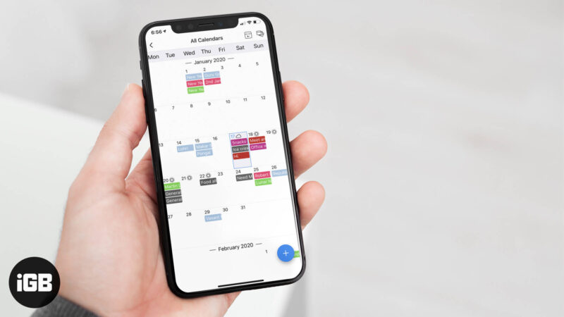 GroupCal Shared Calendar iOS and Android App Review