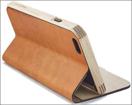 Grovemade iPhone 6 and 6 Plus Maple and Leather Case