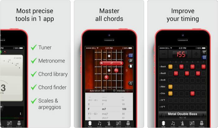 GuitarToolkit iPhone and iPad App Screenshot