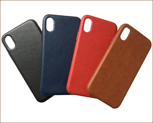 Gulee Leather Case for iPhone Xs