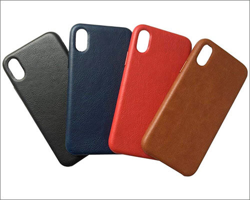 Gulee iPhone X Leather Case