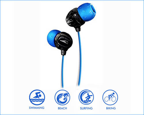 H2O Audio Waterproof Sport Earbuds for Swimming