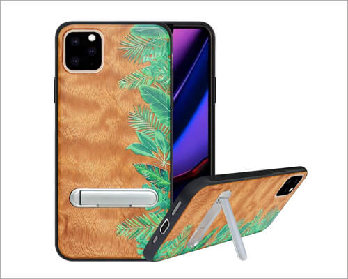 HHDY iPhone 11 Pro Max Natural Wood Case