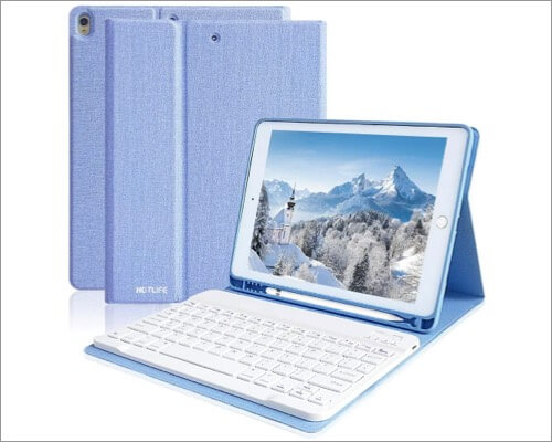 HOTLIFE keyboard case for iPad Air 3