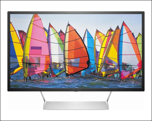HP-Pavilion 32 inch Monitor for Photographer