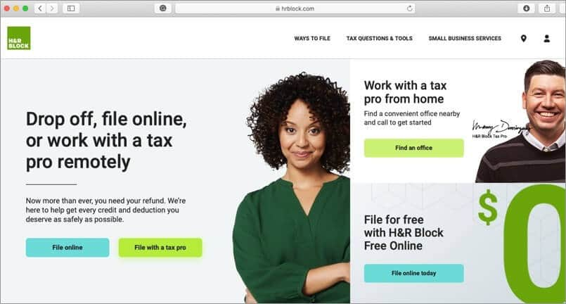 H&R Block Tax Software for Mac