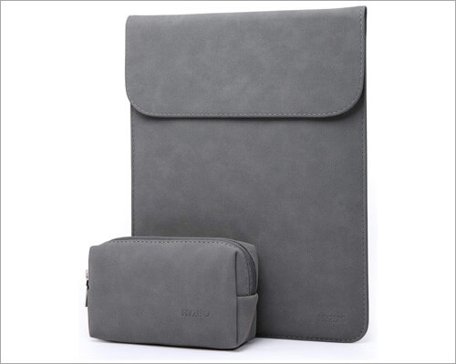 HYZUO 16-inch MacBook Pro Faux Suede Leather Sleeve